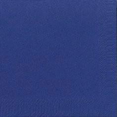 Servietter 3-lags Duni mørkeblå 24cm 2000stk/kar