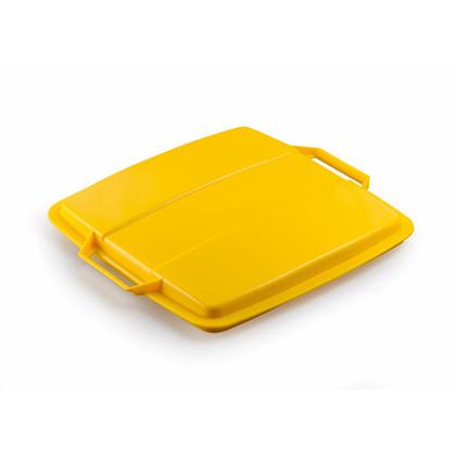 Låg DURABIN 90l gul