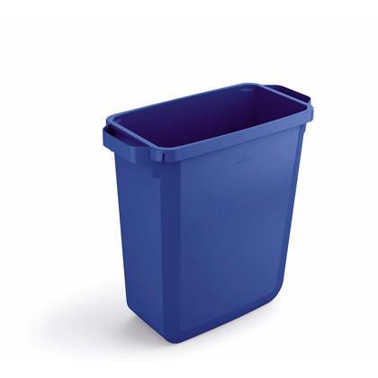 Affaldsspand DURABIN 60l rektangulær blå