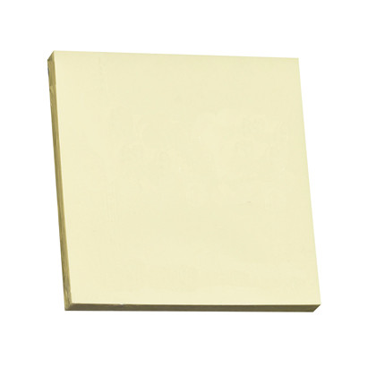 Notes Q-line Stick'N gul 76x76mm 100blade 12stk/pak