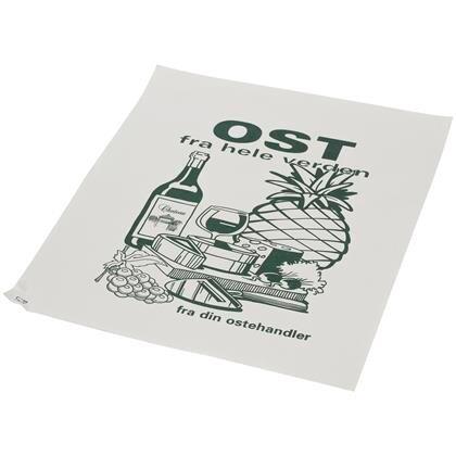 Indpakningspapir PE belagt 40x50cm hvid 10kg Ost fra hele verden