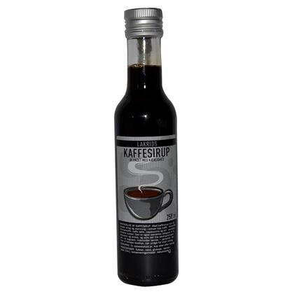 Kaffesirup Lakrids 250ml