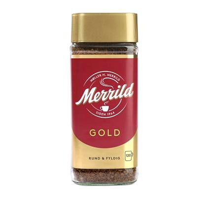 Kaffe Merrild Instant i glas 200g
