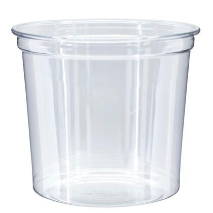 Skål Deli pot 750 ml Ø117X145mm 500stk/pak
