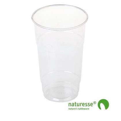Plastikglas PLA klar 30cl Ø76mm 50stk/ps