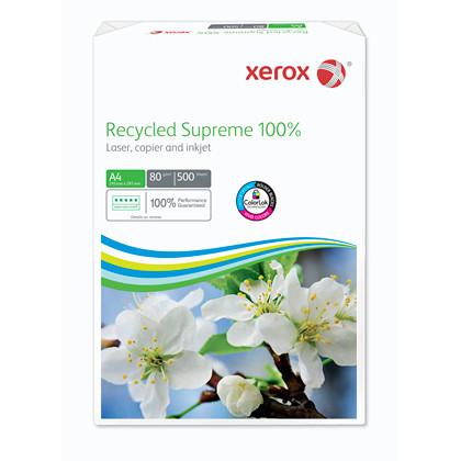 Kopipapir Xerox Recycled Supreme 100% 80g A4 500ark/pak