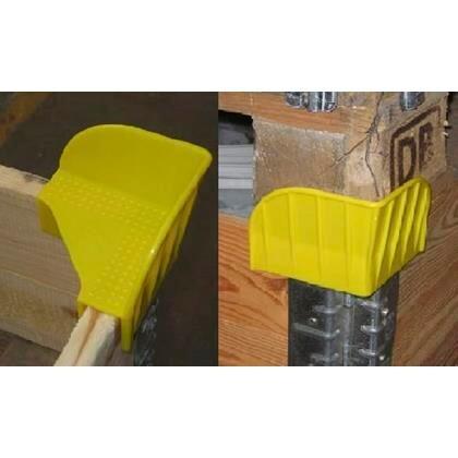 Stabelhjørne til pallerammer gul 120stk/kar