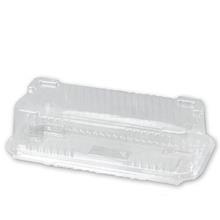 Plastbakke m/hængslet låg v421 flutesbox 220x111x67mm 450stk