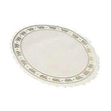 Kagepapir pergamyn hvid/guld Ø18cm 500stk/pak