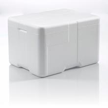 Termoskumkasse Coolsafe 2 hvid 400x300x247mm incl.låg