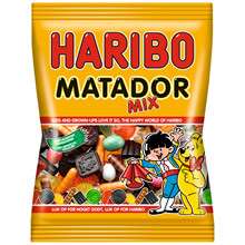 Matador Mix Haribo 135g 42ps/pak