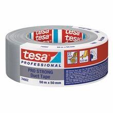 Tape tesa lærred sølv 48mmx50m 4662