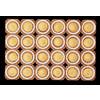 Muffinform på papplade NTS.2 50x36mm 24st/pl 50pl/pak