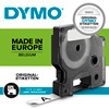 Labeltape DYMO D1 45015 S0720550 12mmx7m rød på hvid