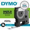 Labeltape DYMO D1 45021 S0720610 12mmx7m hvid på sort