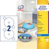 CD-labels Avery inkjet glossy Ø117mm 50stk/pak C9660-25