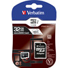 Micro SD card Verbatim 32GB HC 44083 PRO Class 10 m/adapter