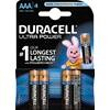 Batteri Duracell Ultra Power AAA 4stk/pak