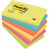 Post-it notes neon 76x127mm 6 ass farver 6blk/pak 655TFEN