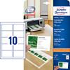 Visitkort Avery laser/inkjet mat 200g 250/pak C32011-25