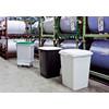 Affaldsspand DURABIN 90l firkantet grøn