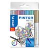 Marker Pilot Pintor assorteret fine Metal Mix 6stk/pak