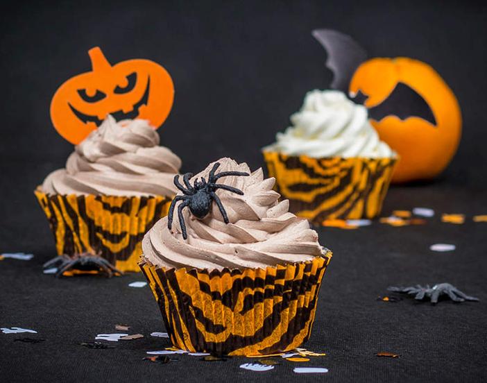 Vanilje cupcakes med frosting - opskrift på Annetteskager