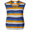 LOLLYS LAUNDRY VEST, BOHO BLUE STRIPE