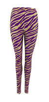 BLACK COLOUR LEGGING, ZEN ZEBRA PUR
