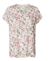 LOLLYS LAUNDRY TOP, HEATHER FLOWER PRINT ROSE