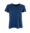 BLACK COLOUR T-SHIRT, ISA NAVY