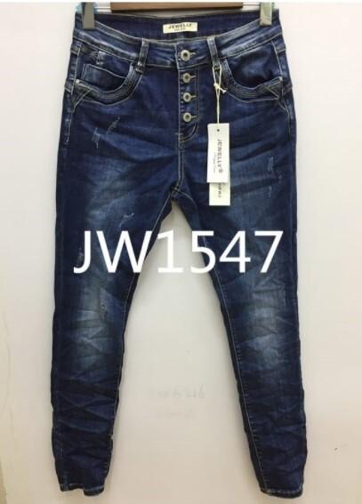 MARTA JEANS, LADIES JW1547 BLUE