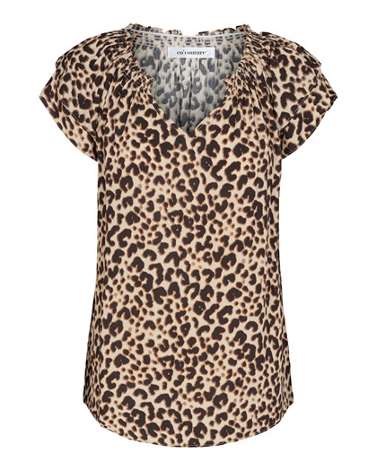 CO' COUTURE BLUSE, SUNRISE ANIMAL BONE
