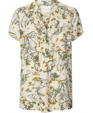 LOLLYS LAUNDRY BLUSE, HEATHER FLOWER
