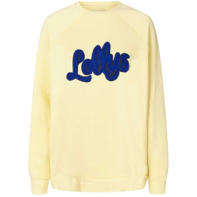 LOLLYS LAUNDRY SWEATSHIRT, MOBY LIGHT YELLOW