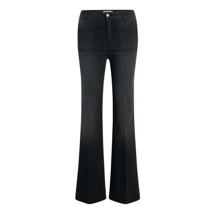 CO' COUTURE JEANS, PIPER DENZEL FLARE BLACK