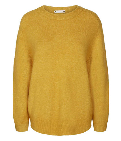 CO' COUTURE STRIK, SOUL O-NECK  MUSTARD
