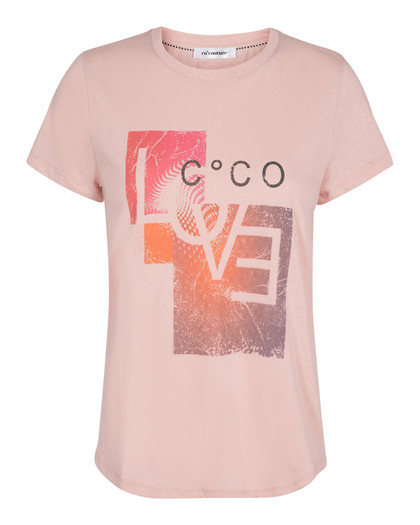 CO' COUTURE T-SHIRT, LEXA LOVE CANDYFLOSS