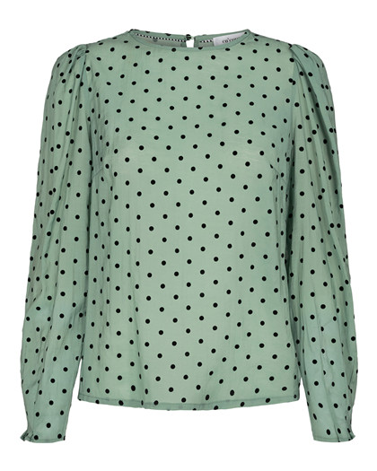 CO' COUTURE BLUSE, TERRA MINT