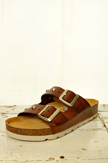 AMUST SANDAL, AM1251 COGNAC