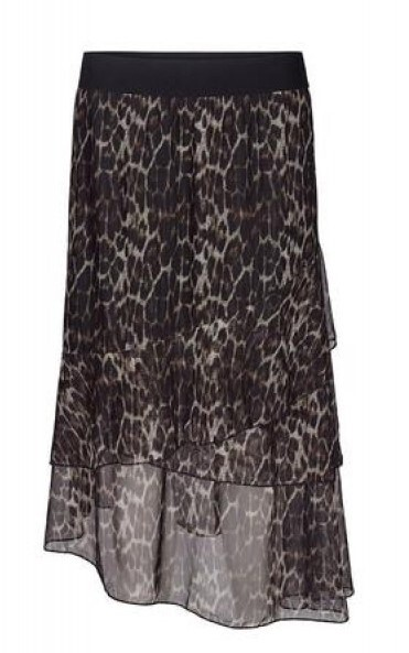 CO´COUTURE NEDERDEL, NABIA ANIMAL MESH SKIRT