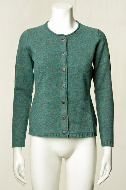 MANSTED CARDIGAN, MILENA COLD GREEN1