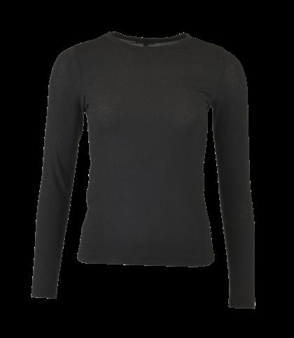 BLACK COLOUR T-SHIRT, FAYE MESH SORT