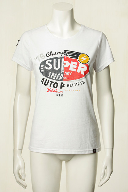 SUPERDRY T-SHIRT, G10007MR HVID