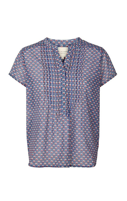 LOLLYS LAUNDRY BLUSE, HEATHER MULTI1