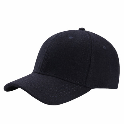 BLACK COLOUR CAP, TRIXIE WOOL NAVY