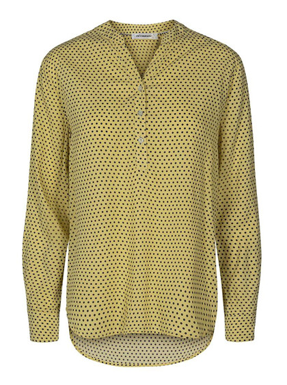 CO' COUTURE SKJORTE, ALBI DOT YELLOW