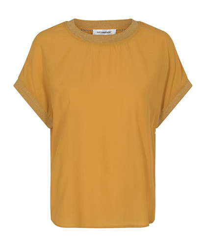 CO' COUTURE BLUSE, NEW NORMA MUSTARD