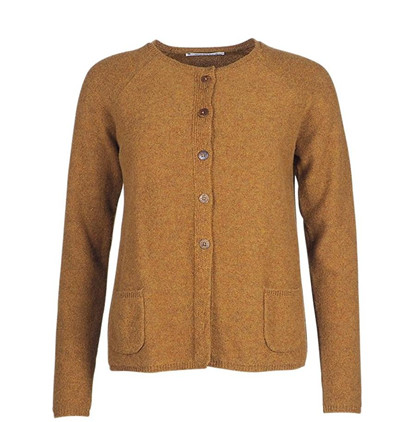 MANSTED CARDIGAN, KODA DARK CURRY