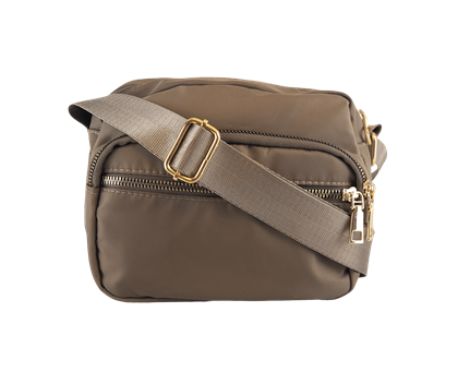 BLACK COLOUR TASKE, VIGGY NYLON KHAKI